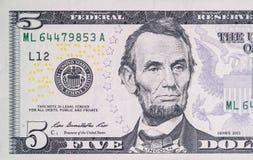 Dollarrekening royalty-vrije stock afbeelding