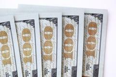 Dollarrekeningen Royalty-vrije Stock Afbeelding