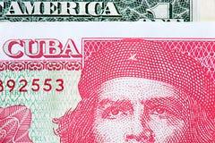 Dollarrekeningen versus peso's Stock Afbeelding