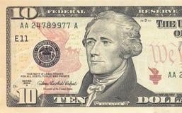 Dollarräkning Arkivbild