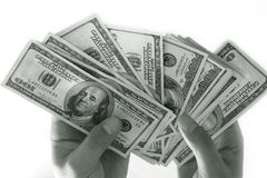 Dollars - 1 Royalty Free Stock Image