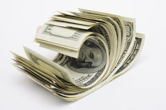 Dollars 100 Royalty Free Stock Photo