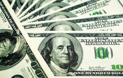 Dollars Royalty-vrije Stock Afbeeldingen
