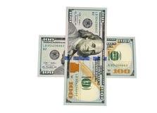100 dollars Royalty-vrije Stock Afbeelding