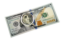 100 dollars Stock Foto's