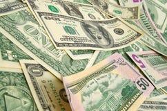 Dollars Royalty-vrije Stock Foto's