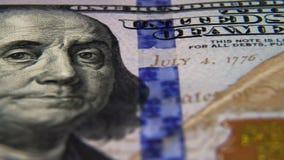 Dollars américains banque de vidéos