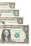 Dollars américains Photo libre de droits