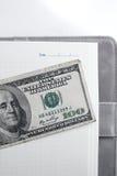 Dollars américains d'argent Photos stock