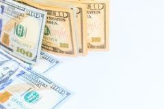 Dollars américains d'argent d'argent liquide Image libre de droits