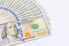 Dollars américains d'argent d'argent liquide Image stock