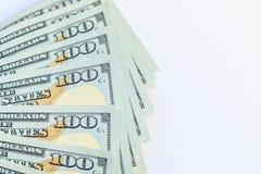 Dollars américains d'argent d'argent liquide Photographie stock