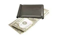 Dollars américains dans votre pochette Photographie stock