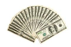 dollars américains mille deux Photo libre de droits