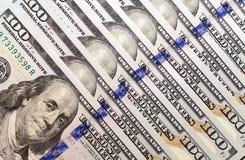 Dollars américains, plan rapproché Images libres de droits