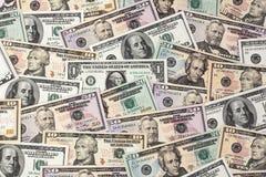 Dollars. American bank notes Stock Photo