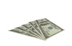 The dollars art. The one hundred dollar for decorate royalty free stock images