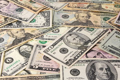 Dollars as background Royalty Free Stock Photo