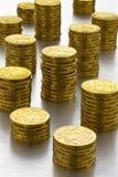 dollars australiens de piles d'argent Images libres de droits