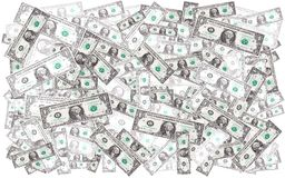 Dollars background Stock Image