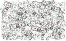 Dollars background Stock Image