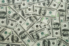 Dollars background Royalty Free Stock Photos