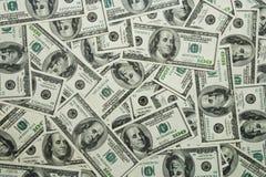Dollars background. Money background - hundred dollars greenback Royalty Free Stock Photos
