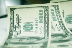 Dollars background. Concept close-up money dollars background Stock Photos