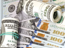 Dollars, background Royalty Free Stock Photo