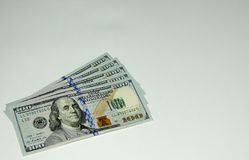 Dollars. Background in the form of dollars Royalty Free Stock Images