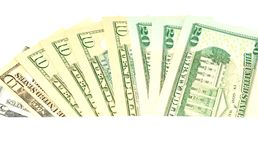 Dollars background Royalty Free Stock Photo