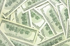 Dollars backround Royalty Free Stock Photos