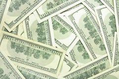 Dollars backround Royalty Free Stock Photos