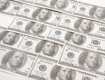 Dollars bank notes Stock Images