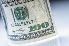 Dollars banknotes. American Dollars Cash Money. One Hundred Dollar Banknotes Stock Photos