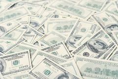 Dollars banknotes Stock Photos