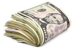 Dollars banknotes Stock Images