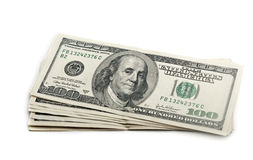 Dollars bills Royalty Free Stock Photos