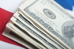 Dollars bills Stock Images