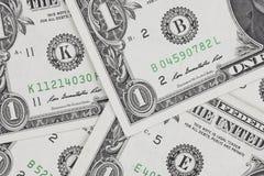 Dollars bills, cash pile background Stock Photography