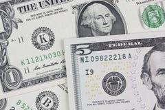 Dollars bills, cash pile background Royalty Free Stock Photo