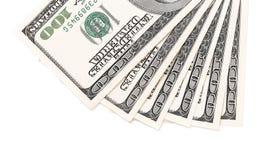 Dollars bills isolated Royalty Free Stock Photo