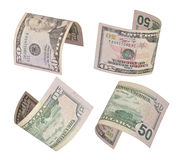 Dollars bills Royalty Free Stock Photography