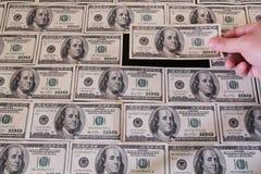 Dollars bricks Stock Photos
