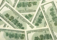 Dollars - business background Stock Photo