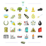 , dollars, business, nature and other web icon in cartoon style.   Royalty Free Stock Image