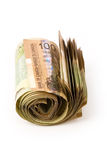 Dollars canadiens Images stock