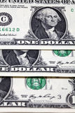 Dollars close up Stock Photo