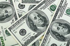 Dollars close-up Royalty Free Stock Image