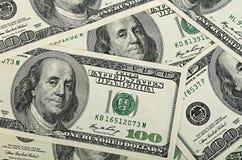 Dollars close-up Stock Photos